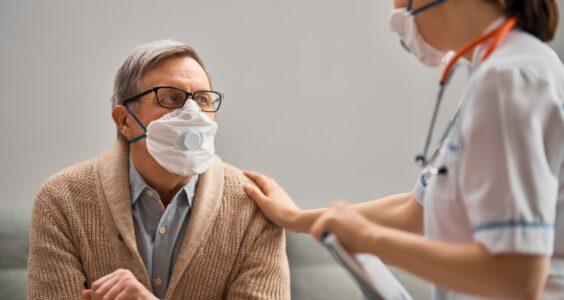 Afbeelding voor Voeding bij COVID-19 na ontslag uit het ziekenhuis