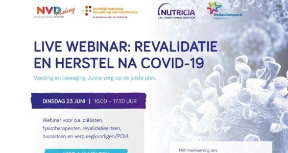 Afbeelding voor Webinar: revalidatie en herstel na COVID-19